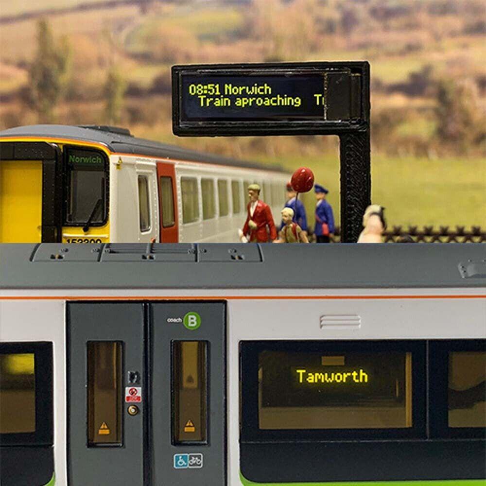 Train Tech Smart Screen  Twin Pack OO Gauge TTSD2
