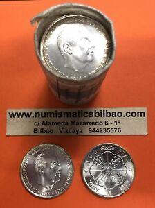 ESPANA-100-PESETAS-1966-19-68-PLATA-SIN-CIRCULAR-FRANCO-ESTADO-ESPANOL-SC-1968