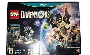 LEGO Dimensions: Starter Pack Nintendo Wii U New Kids Game Bundle