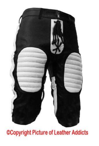 Pantaloncini da Uomo Bondage in Pelle Heavy Duty in taglie e colori