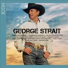 Brand New George Strait  ICON CD Amarillo  Morning I Cross My Heart Oceanfront