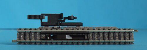 NEW FLEISCHMANN PICCOLO 9114 N GAUGE MANUAL UNCOUPLER TRACK 111mm w// BALLAST