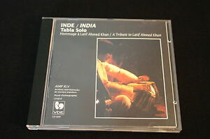 TABLA-SOLO-INDE-INDIA-CD-LATIF-AHMED-KHAN-1996