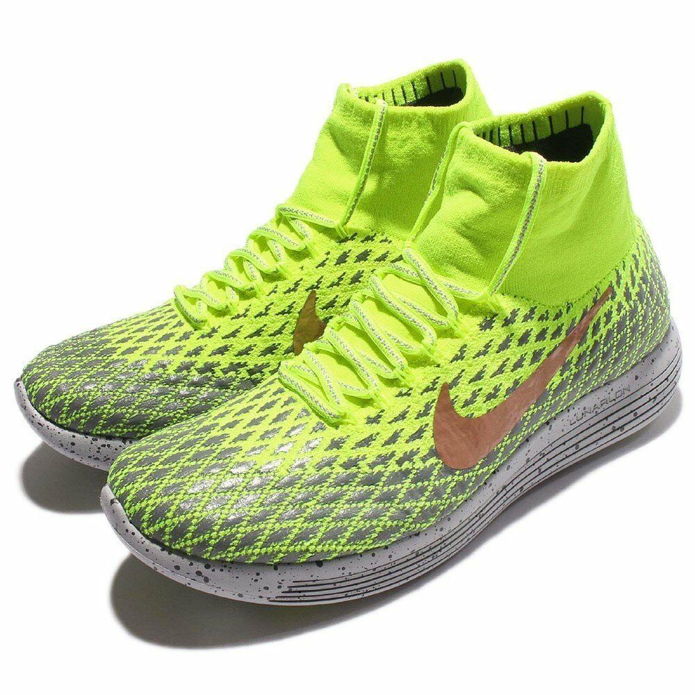 Nike Lunrepic Flystick Shield Volt Volt Volt Storlek 9.5 11.5 12 Cross Training springaning  tidlös klassiker