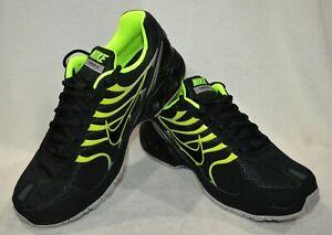 d49e8832 Nike Air Max Torch 4 Black/Volt/A-Grey Men Running Shoes-Asst Sz ...