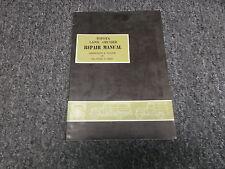 1963 1964 Toyota Land Cruiser FJ40 FJ43 FJ45 Transmission Service Repair Manual