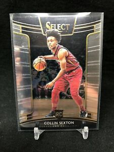 2018-19-Panini-Select-Collin-Sexton-Rookie-75-Cleveland-Cavaliers-RC-D69