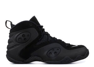5c9fd76f112 2018 Nike Zoom Rookie Retro SZ 9 Triple Black Penny Foamposite ...