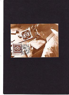 """Selbstlos Uno New York Maximumkarte Nr.6 """" 40 Jahre Postverwaltung Vereinte Nationen """" Vereinte Nationen Briefmarken"""