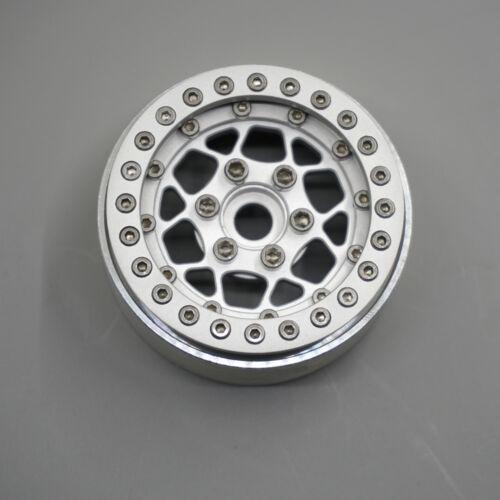 """4pcs RC Aluminum Beadlock 1.9/"""" Wheels fr 1:10 SCX10 D90 Wraith TRX4 CC01 Crawler"""
