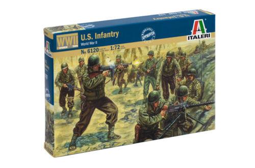 WWII American Infantry soldats 1//72 Italeri 6120
