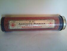 "Johnson & Johnson ""Adhesive Plaster"" Vintage Cardboard / Paper Tube"