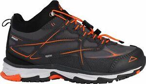 McKinley-Kinder-Multifunktions-Stiefel-Schuhe-EVOSOME-MID-AQX-Jr-grau-orange