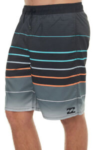 BILLABONG-MEN-S-WEEKENDS-LAYBACK-MENS-ELASTIC-BOARDSHORT-38-POLYESTER-BLACK-NEW