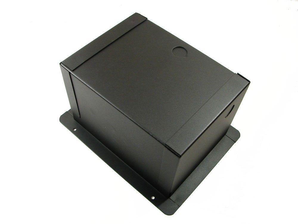 ProCraft ProAudio Recessed Pocket Floor Box 3 3 3 AC Duplex f84862