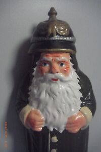 Candybox-Weihnachtsmann-Pappmache-28-cm-Soldat-mit-Pickelhaube
