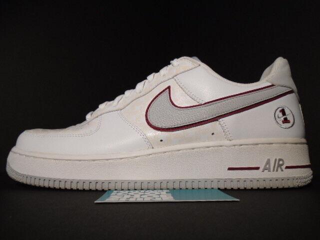 2006 Nike Air Air Nike Force 1 blanc COOL gris ESTADIO rouge CHOSEN 1 MATRIX EUROPE 10.5 eb32e3