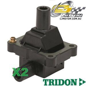 TRIDON-IGNITION-COIL-x2-FOR-Daewoo-Korando-1998-02-98-07-98-4-2-3L-M161-97