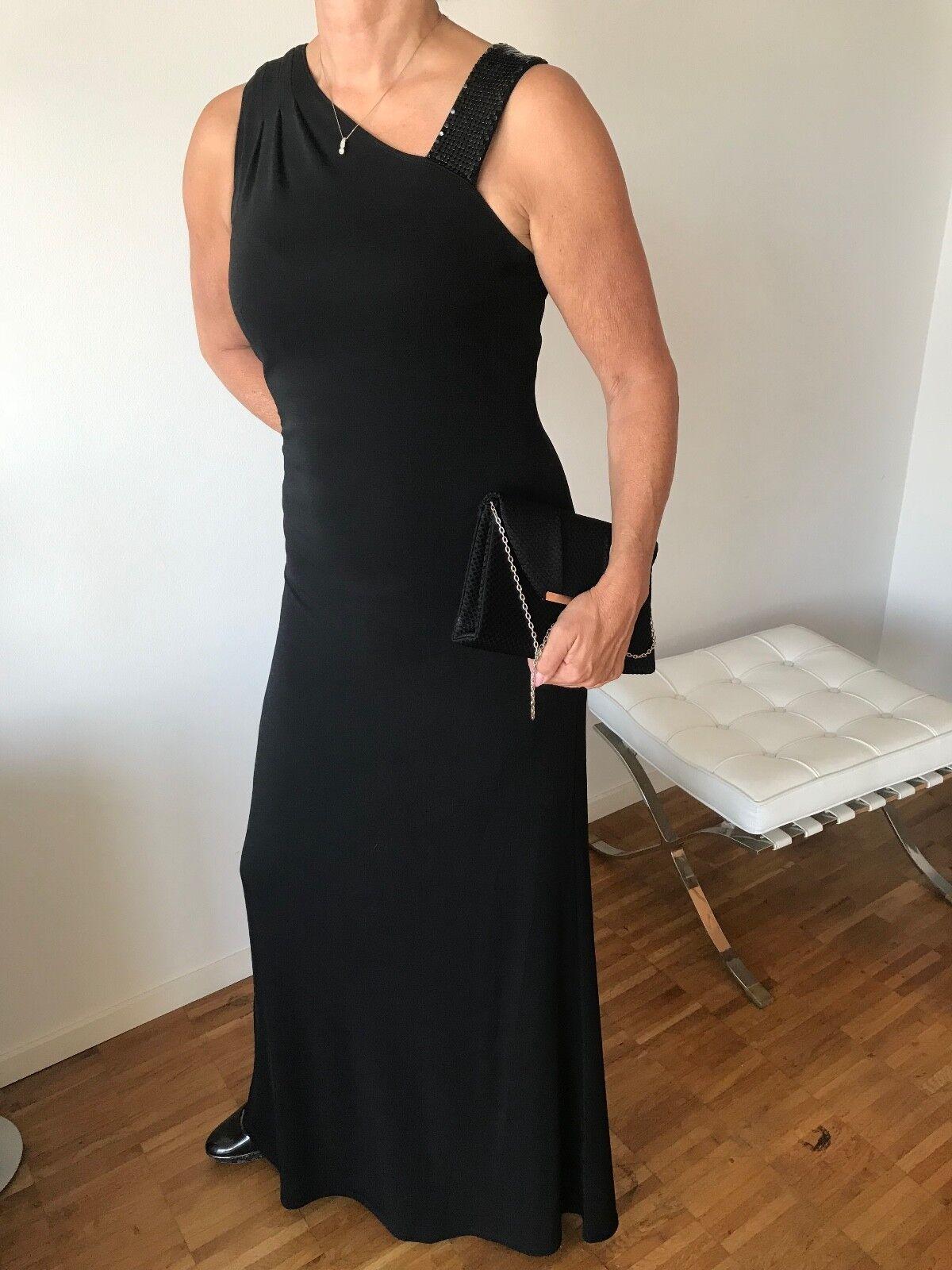 Abendkleid   Viskose   STEFFEN SCHRAUT   Größe 42   schwarz   90 Euro