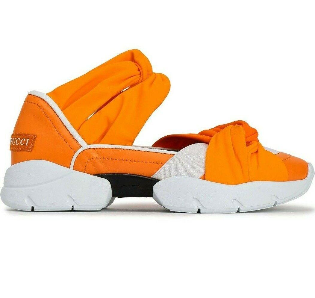 Emilio Pucci City su Ruffle Trainers Scarpe su  scarpe da ginnastica 38  varie dimensioni