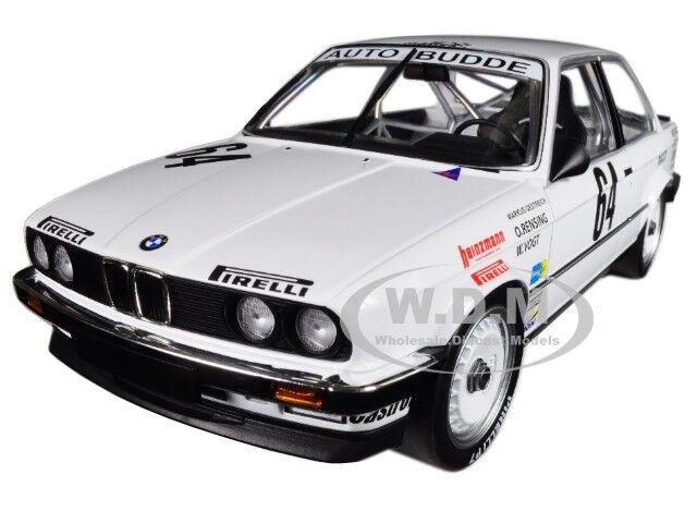BMW 325I  64 AUTO BUDDE NURBURGRING WINNER 1986 1/18 BY MINICHAMPS 155862664