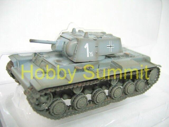 1/72 German Army WW2  KV-1 1941Tank Captured 8th Panzer Divison  FInished Model