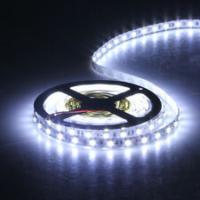5M 5050 SMD 60LED/M Flexible Strip bright Lamp DC 12V Non-waterproof Cold White