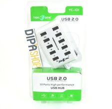 Hub Sdoppiatore Usb TeKone YC-101 10 Porte Usb 2.0 Multiporta Pc Notebook hsb