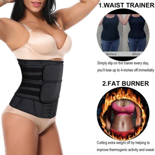 Fajas Reductoras Colombianas Body Shaper Waist Trainer Tummy Control Belt Corset