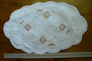 Satin-amp-Stem-Hand-Embroidered-WHITE-Linen-Centre-amp-Crochet-Edge-490x290mmLFlt462