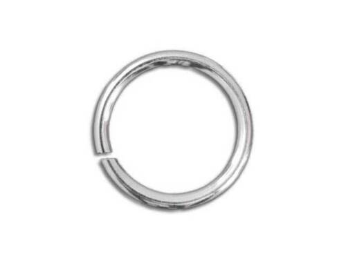 1 x Argent Sterling 5 mm Jump Ring O Ring Fastener ~ fabrication de bijoux réparations