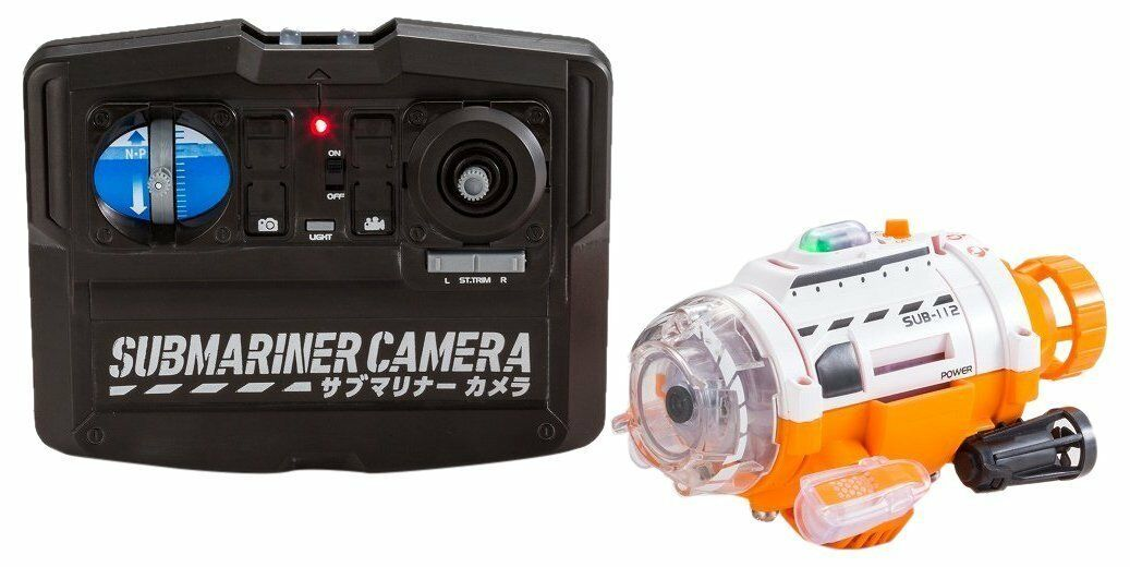 New  CCP Submariner Camera under water Remote Control Camera Japan Import  F/S