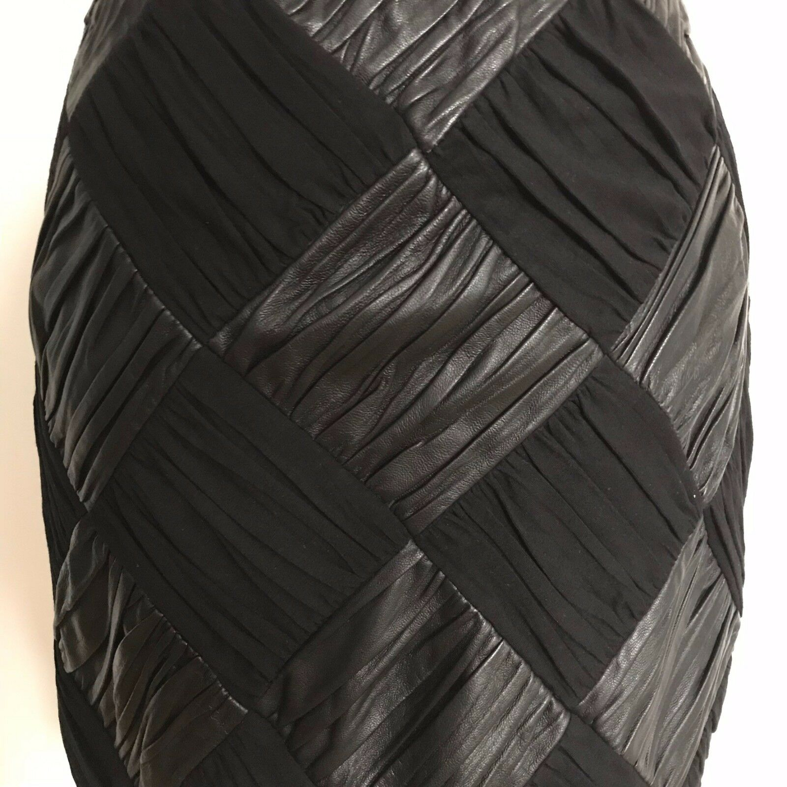 Harrywho Leather Skirt Size 8
