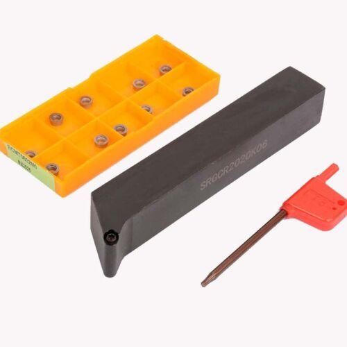 SRGCR2020K06 CNC lathe boring machining cutter external turning tool+RCMT0602M0