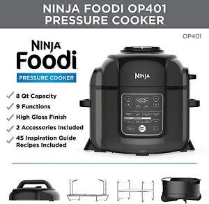 Ninja Foodi 8-Quart 9-in-1 Deluxe XL Pressure Cooker Air Fryer Steam Dehydrater