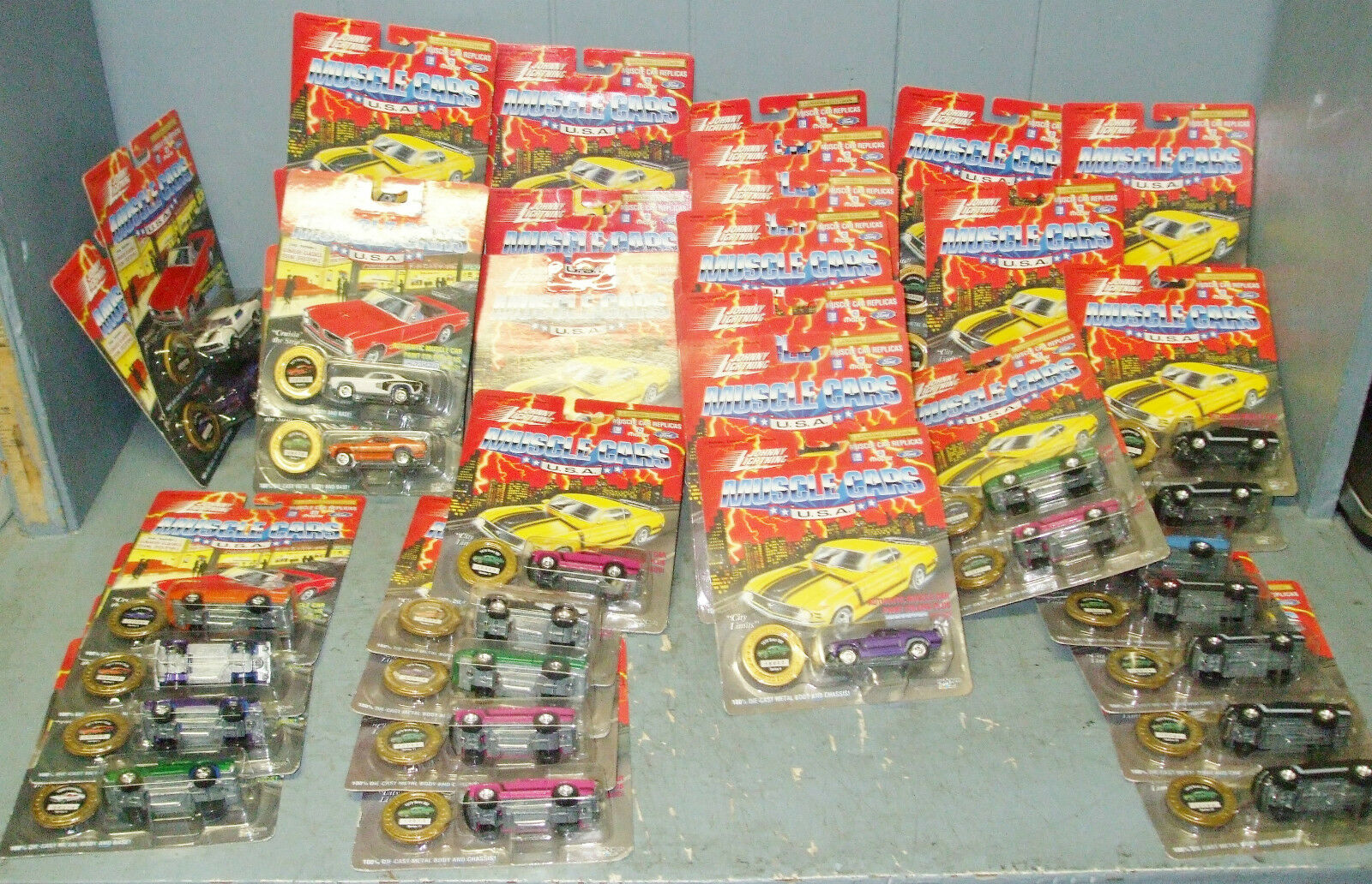 Johnny Lightning Muscle Voiture Lot, 48 pièces, Limited Ed.