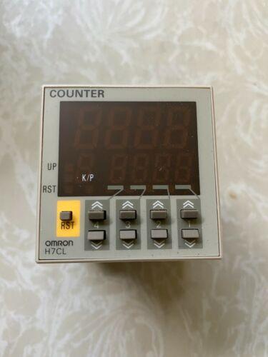 Omron 4 Digit H7CL-ADS DIGITAL COUNTER  12-24VDC