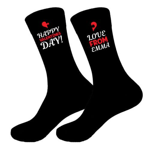 10-13 Big Foot D3 Da Uomo Padri Giorno San Valentino Fidanzato Papà Calzini Taglie 6-11