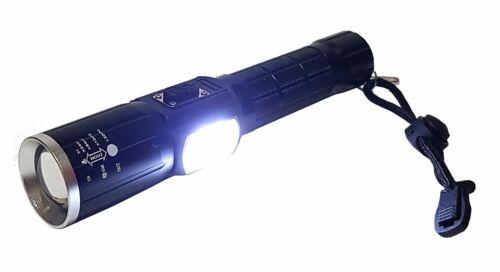 Ultra Lumineux professionnel CREE DEL PUCE 800 Lm Batterie Lampe Torche Lampe Signal Lumière USB