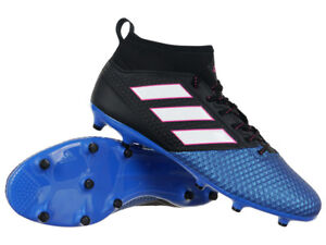 detailed look e598e e1b31 Image is loading Men-039-s-adidas-ACE-17-3-Primemesh-