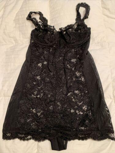 Laperla Black Lace Bodysuit