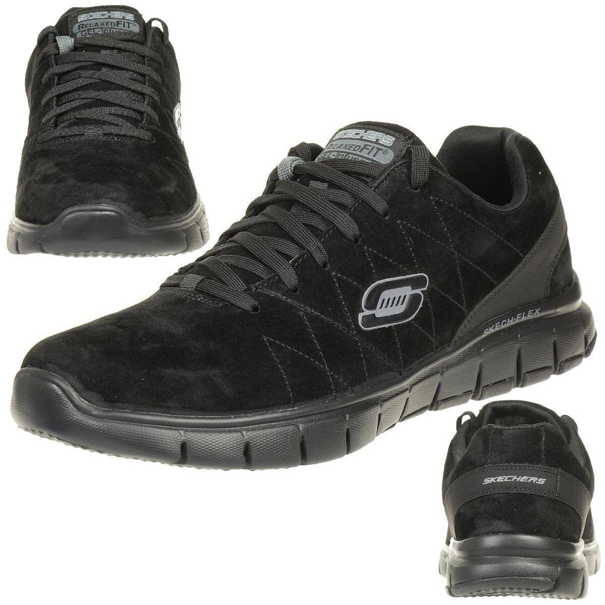 Skechers Skech Flex Natural Vigor Herren Sneaker Schuhe Relaxed Fit BBK
