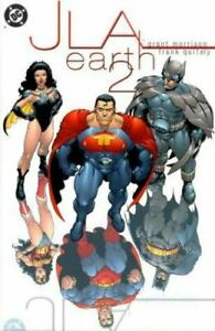 JLA : Earth II by Grant Morrison (2000, Hardcover)