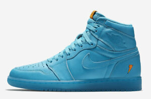 63e28922093a Nike Air Jordan 1 Retro High OG G8RD BG SZ 4.5Y Gatorade Blue Lagoon ...