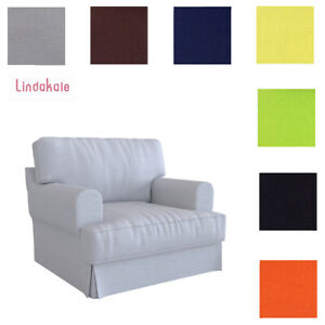Custom-Made-Cover-Fits-IKEA-Hovas-Armchair-Replace-Hovas-Chair-Cover