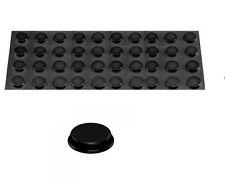 "40 lot 3M ™ BUMPON 3/4"" SELF ADHESIVE BLACK RUBBER FEET stick on equipment foot"