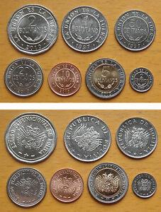 Image is loading BOLIVIA-COINS-SET-OF-7-PIECES-AU-UNC