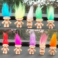 10Pcs Funny Lucky Decoration Retro Trolls Tombola Loot Cake Topper Filler Toys
