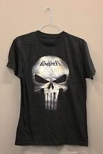 THE PUNISHER MASK BLACK T-SHIRT..XTREME..SIZE: ADULTS MEDIUM..A.D..NEW