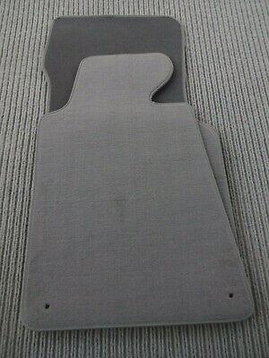 Automatten Autoteppiche Fußmatten grau BMW 7er E32 1986 bis 1994 Lim